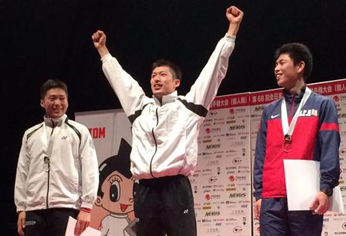 全日本選手権優勝